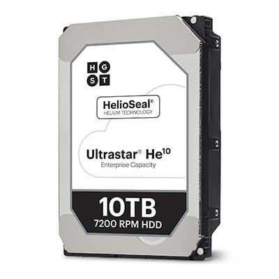 HGST ULTRASTAR He10 10TB, 4Kn Secure Erase, SATA 6Gb/s