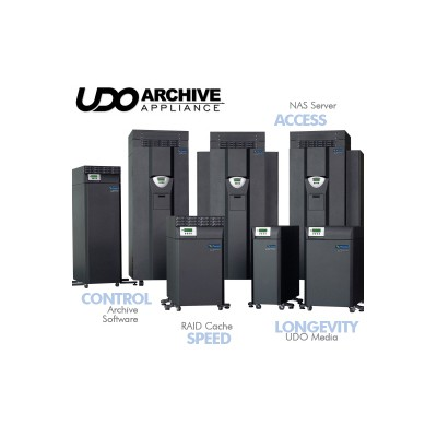 Archive Appliance - 2 Drives UDO2 - 80 slots