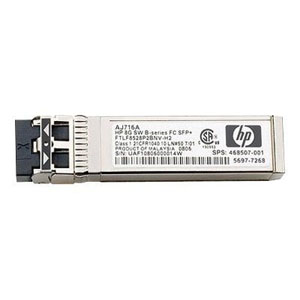 HP Fibre Channel transceiver 8Gb/s SFP+ série B (AJ716B)