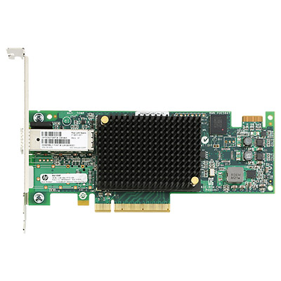 Adaptateur HP Fibre Channel 16Gb/s monoport StoreFabric SN1000Q