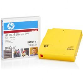 HP Cartouche de données LTO-3 Ultrium REW 400/800GB