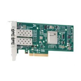 Adaptateur Brocade CNA 1020 PCIe Double Port avec SFP 10GBase-SR