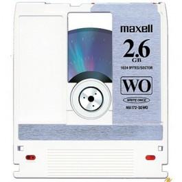 Maxell Disque magnéto-optique - 2,6 Gb WORM