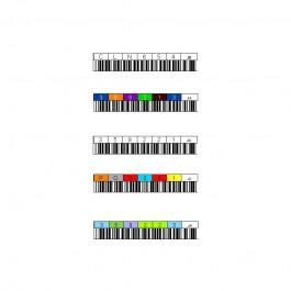 Etiquette code à barre pour bande 3592