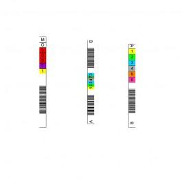 Etiquette code à barre pour magnéto optique