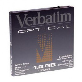 Verbatim Disque magnéto-optique - 1,2 Gb WORM
