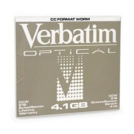 Verbatim Disque magnéto-optique - 8,6 Gb Worm