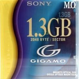 Sony Disque magnéto-optique  - 1,3 Gb ''GigaMo''