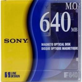 Sony Disque magnéto-optique - 640 Mb