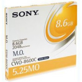 Sony Disque magnéto-optique - 8,6 Gb WORM