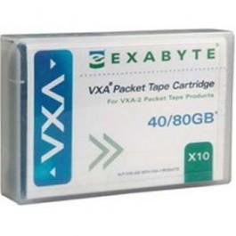 Exabyte Cartouche de données VXA X10 - 40/80GB