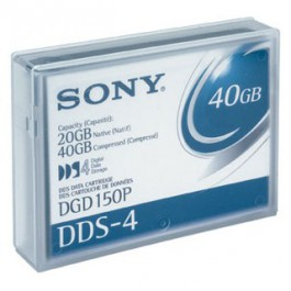 Sony Cartouche de données DDS-4 20/40 GB