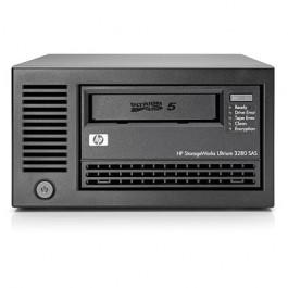 Lecteur de bande interne SAS HP StoreEver LTO-5 Ultrium 3280 + kit de montage en rack 3U