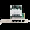 Carte réseau HP NC364T PCI-E Gigabit quadruple port