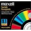Maxell Disque magnéto-optique 9,1 Gb REW 5,25'' 9,1GB Rew 4096 B/S ISO