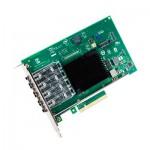 Carte réseau convergent Ethernet Intel X710-DA4FH
