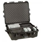 Valise de transport Turtle Tape 50 étanche pour bandes LTO / DLT - 50/44 emplacements