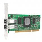 Adaptateur Qlogic Fibre Channel 4 Gb/s PCI-X Double Port QLA2462