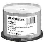 DVD+R DL Wide Thermal Printable 8x Cake50