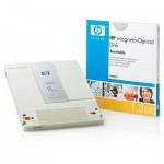 HP Disque magnéto-optique REW - 1,3 Gb