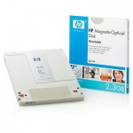 HP Disque magnéto-optique REW - 2,3 Gb
