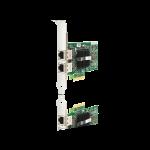 Carte réseau à double port HP NC360T PCI-E Gigabit