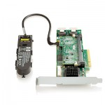 Adaptateur HP Smart Array P410/512 BBWC 2-ports Int PCIe x8 SAS Controller