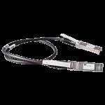 Câble en cuivre à connexion directe HP BladeSystem de classe c 10 GbE long de 1 m entre SFP+ et SFP+