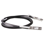 Câble en cuivre à connexion directe HP BladeSystem de classe c 10 GbE long de 3 m entre SFP+ et SFP+