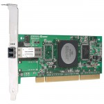 Adaptateur Qlogic Fibre Channel 4 Gb/s PCI-X Mono Port QLA2460