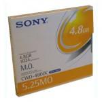 Sony Disque magnéto-optique - 4,8 Gb WORM