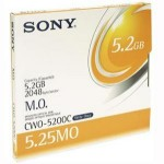 Sony Disque magnéto-optique - 5,2 Gb WORM