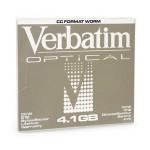 Verbatim Disque magnéto-optique - 4,1 Gb WORM