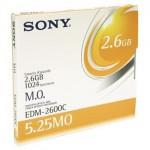 Sony Disque magnéto-optique - 2.6 Gb REW
