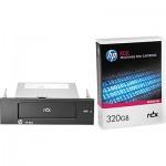 Lecteur HP StorageWorks RDX USB 3.0 interne livré avec une cartouche HP RDX 320 Go