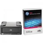 Lecteur HP StorageWorks RDX USB 3.0 externe livré avec une cartouche HP RDX 320Go