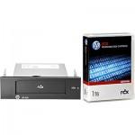 Lecteur HP StorageWorks RDX USB 3.0 interne livré avec une cartouche HP RDX 1To