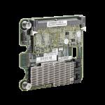 Adaptateur HP Smart Array P711m/1 Go 6Gb 4-ports Ext Mezzanine SAS Controller