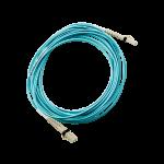 Pack de 1 câble fibre optique HP LC à Multi-mode LC OM3 2 fibres 0,5m