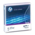 HP Cartouche de données LTO-6 Ultrium REW 2,5 To/6,25 To MP à particules de métal