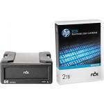 Lecteur HP StorageWorks RDX USB 3.0 externe livré avec une cartouche HP RDX 2To