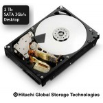 Disque Hitachi  SATA 3 Gb/s 2 Tb