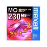 """Maxell Magneto Optique 230Mb - 3,5"""" Non Formatté"""