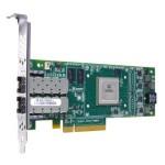 Adaptateur Convergent Qlogic Multi-protocole 10GbE et FC Double Port Optique LR