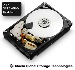 Disque Hitachi  SATA 6 Gb/s 2 Tb