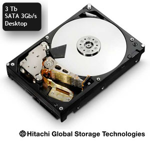 Disque Hitachi  SATA 6 Gb/s 3 Tb