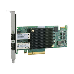 Adaptateur HP Fibre Channel 16 Gb/s SN1000E double port PCIe