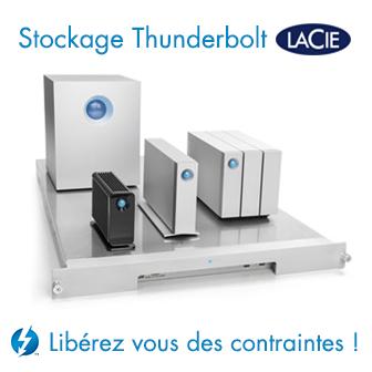 LaCie Solution de Stockage Thunderbolt